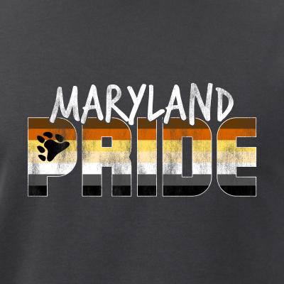 Maryland Pride Gay Bear Flag