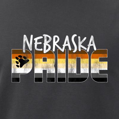 Nebraska Pride Gay Bear Flag