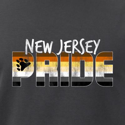 New Jersey Pride Gay Bear Flag