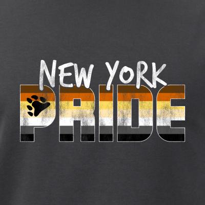 New York Pride Gay Bear Flag