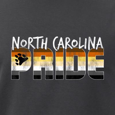 North Carolina Pride Gay Bear Flag