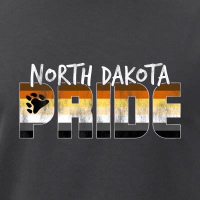 North Dakota Pride Gay Bear Flag