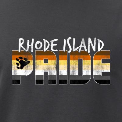 Rhode Island Pride Gay Bear Flag