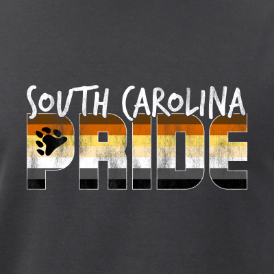 South Carolina Pride Gay Bear Flag