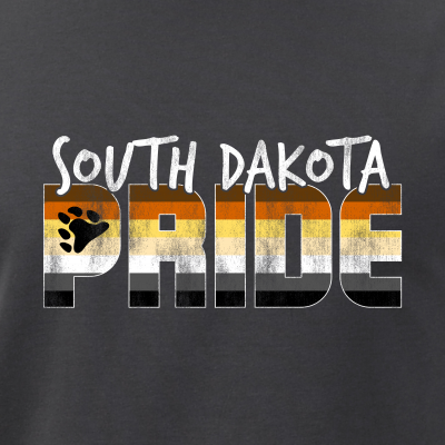 South Dakota Pride Gay Bear Flag