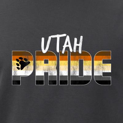 Utah Pride Gay Bear Flag