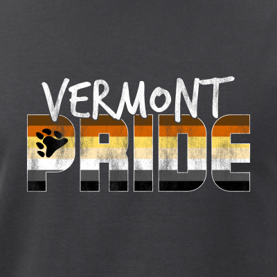 Vermont Pride Gay Bear Flag