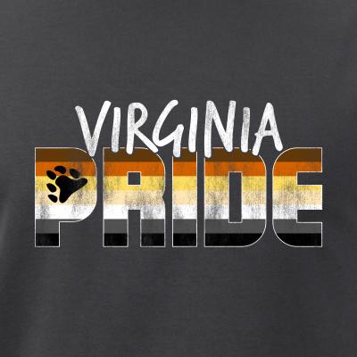Virginia Pride Gay Bear Flag
