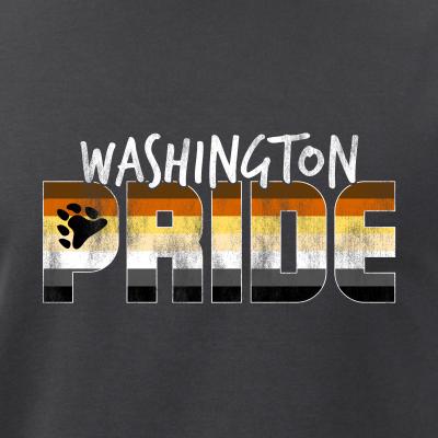 Washington Pride Gay Bear Flag