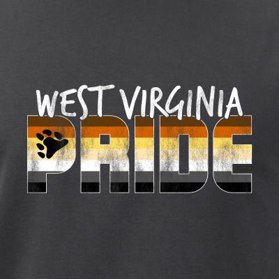 West Virginia Pride Gay Bear Flag