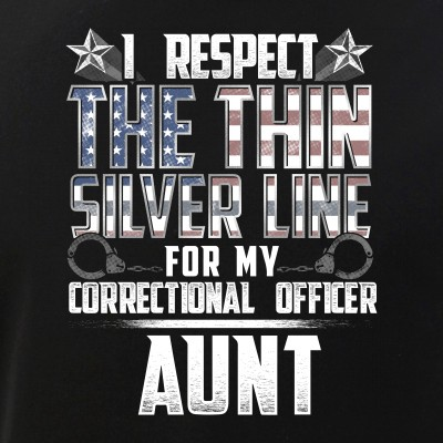 Aunt Thin Silver Line Correctional Officer