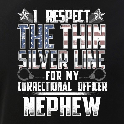 Nephew Thin Silver Line Correctional Officer