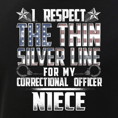 Niece Thin Silver Line Correctional Officer