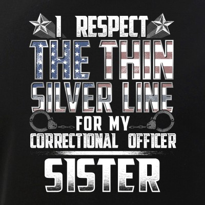 Sister Thin Silver Line Correctional Officer