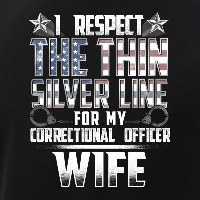 Wife Thin Silver Line Correctional Officer