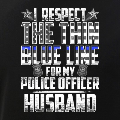 Husband Police Officer Thin Blue Line