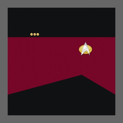TNG Starfleet Uniform: Command - Commander