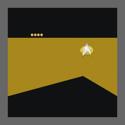 TNG Starfleet Uniform: Operations - Captain