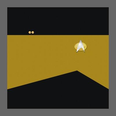 TNG Starfleet Uniform: Operations - Lieutenant