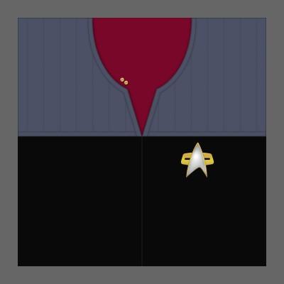 DS9 Starfleet Uniform: Command - Lieutenant
