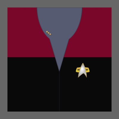 VOY Starfleet Uniform: Command - Commander