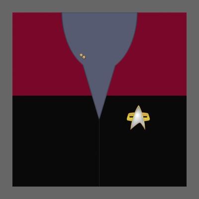 VOY Starfleet Uniform: Command - Lieutenant