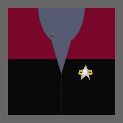 VOY Starfleet Uniform: Command - Chief Petty Officer