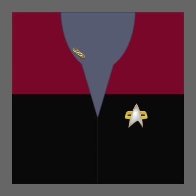 VOY Provisional Uniform: Command - Captain