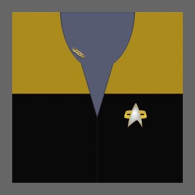 VOY Provisional Uniform: Operations - Captain