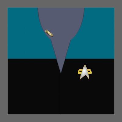 VOY Provisional Uniform: Science/Medical - Captain