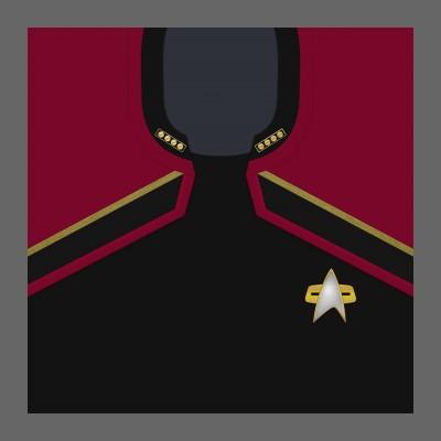 PIC 2380s Starfleet Uniform: Command - Admiral