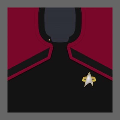 PIC 2380s Starfleet Uniform: Command - Enlisted