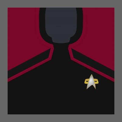 PIC 2380s Starfleet Uniform: Command - Crew