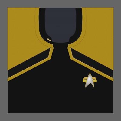 PIC 2380s Starfleet Uniform: Operations - Lieutenant