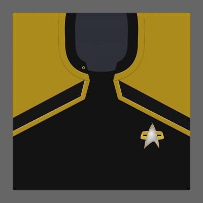 PIC 2380s Starfleet Uniform: Operations - Enlisted