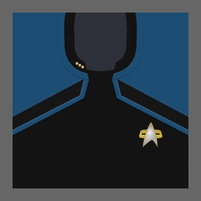 PIC 2380s Starfleet Uniform: Science/Medical - Commander