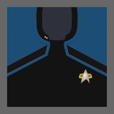 PIC 2380s Starfleet Uniform: Science/Medical - Lieutanant