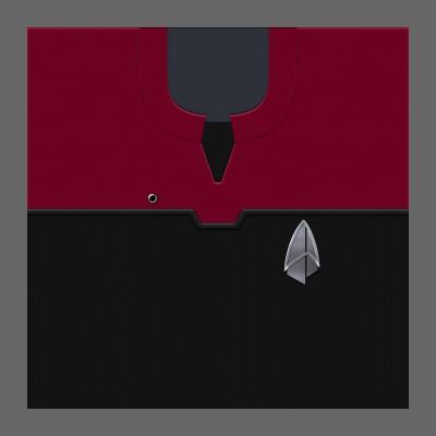 PIC 2390s Starfleet Uniform: Command - Enlisted