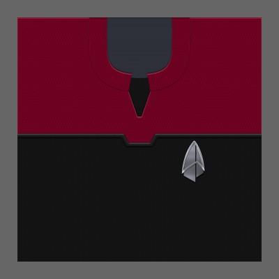 PIC 2390s Starfleet Uniform: Command - Crew