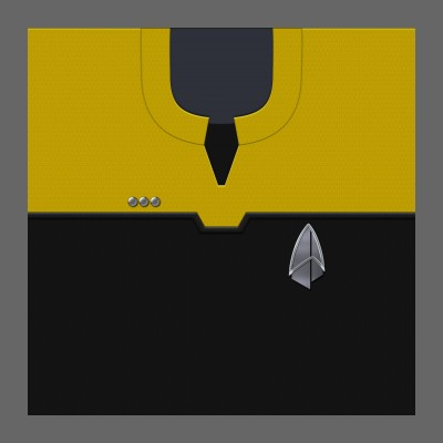 PIC 2390s Starfleet Uniform: Operations - Commander