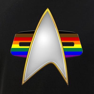 Philly Inclusive LGBTQ Pride Flag VOY Combadge