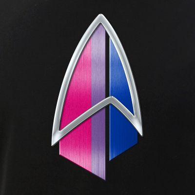 Bisexual Pride Flag PIC Combadge