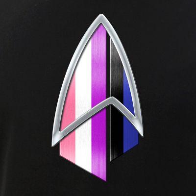 Genderfluid Pride Flag PIC Combadge