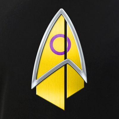 Intersex Pride Flag PIC Combadge