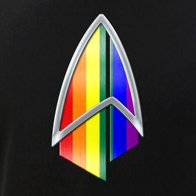 LGBTQ Pride Flag PIC Combadge