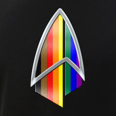 Philly LGBTQ Pride Flag PIC Combadge