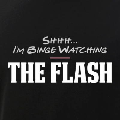 Shhh... I'm Binge Watching The Flash