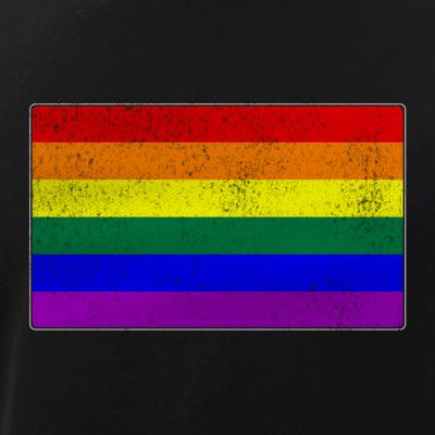 Distressed LGBT Gay Pride Flag