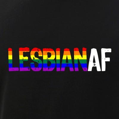 LESBIAN AF Lesbian as Fuck LGBTQ Pride Flag