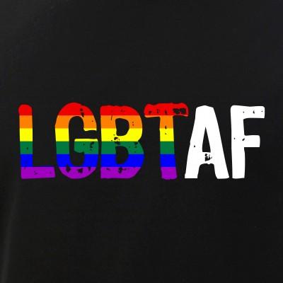 LGBT AF LGBT as Fuck Rainbow Pride Flag